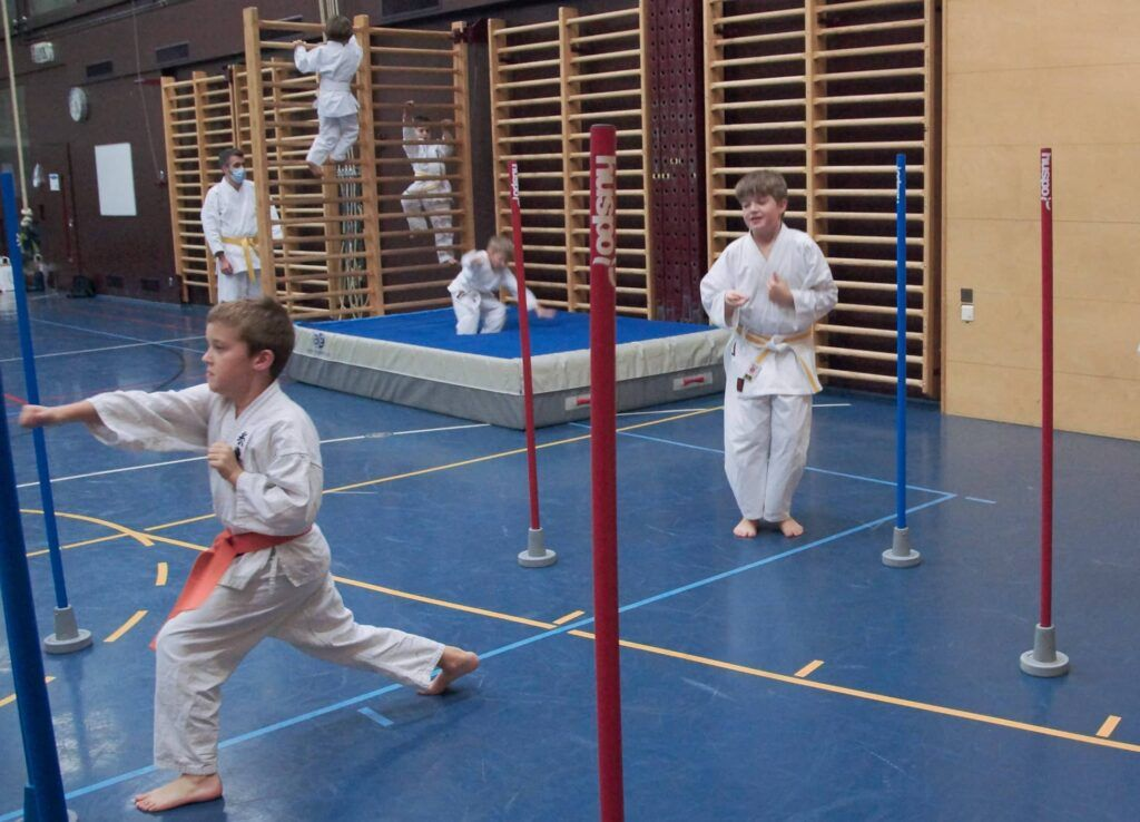 Kinder mit Karate polysportiv fördern
